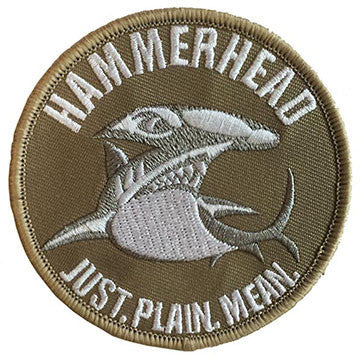 Hammerhead Patch (Tan)