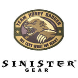 "Sinister Gear ""Honey Badger"" PVC Patch"