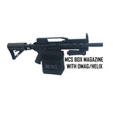mcs box magazine with 468 paintball gun.