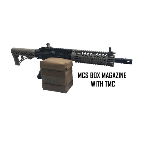 mcs box magazine with TMC paintball gun