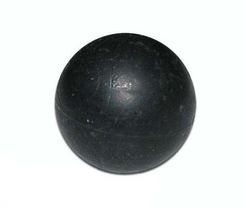 Black Rubber Training Balls (Bottle of 100)