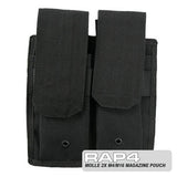 BLACK Double M4 / M16 Pouch