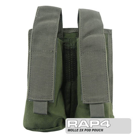 OLIVE DRAB MOLLE Double Pod Pouch