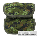 MOLLE Small Double Utility Pouch