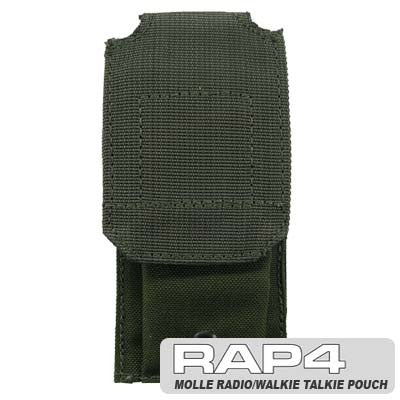 OLIVE DRAB MOLLE Radio/Walkie Talkie Pouch