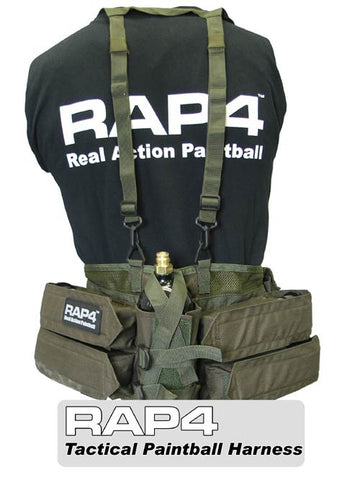 OLIVE DRAB Paintball Harness