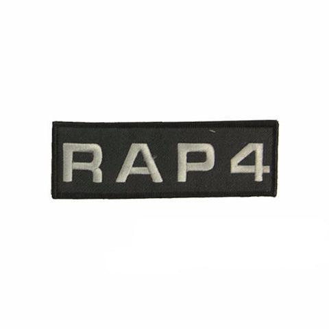 RAP4 Patch Small (Black)