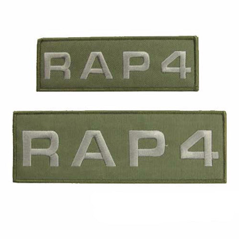 RAP4 Patch Package Set (Olive Drab)