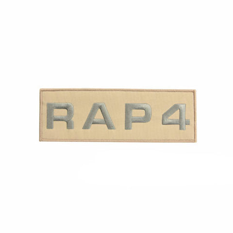 RAP4 Patch Small (Tan)