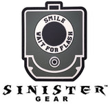 "Sinister Gear ""Wait For Flash"" PVC Patch"