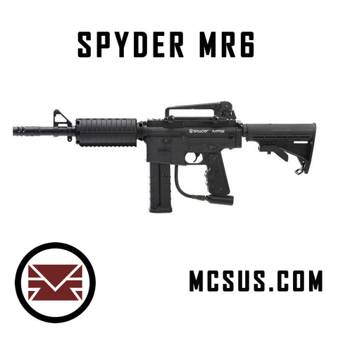 Spyder MR6 Paintball Gun
