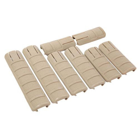 Stingray RIS Rail Cover (8x) (Tan)