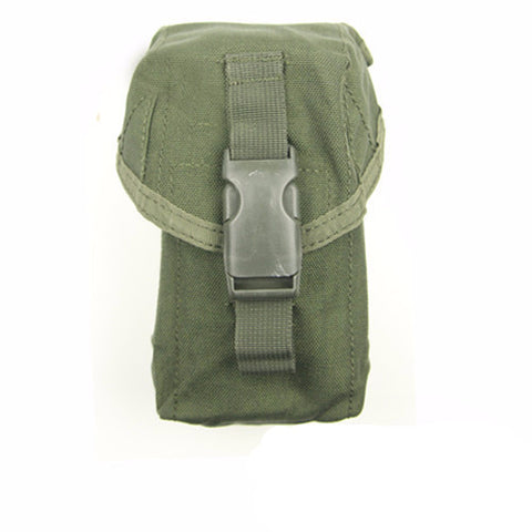 OLIVE DRAB MOLLE Triple M4 DMAG & Helix Magazine Pouch