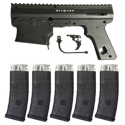 TACAMO Blizzard Alpha MagFed Conversion Kit (5 Magazines)