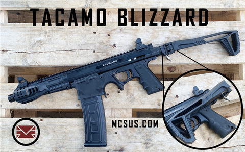 TACAMO Blizzard CMP Paintball Gun