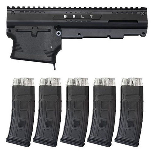 TACAMO Bolt MagFed Conversion Kit (5 Magazines)