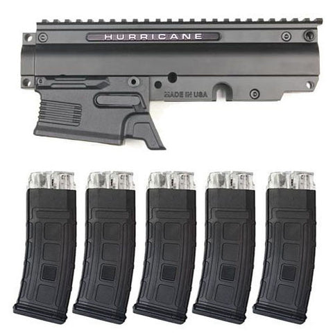 TACAMO Hurricane MagFed Conversion Kit (5 Magazines) For Tippmann Phenom