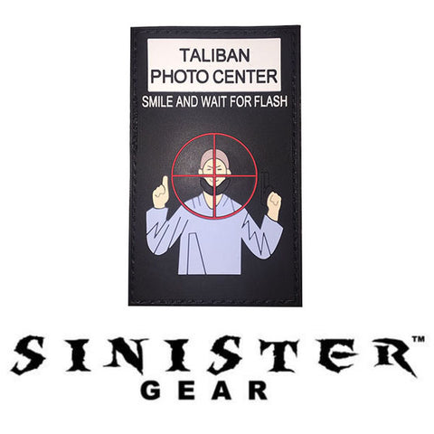 "Sinister Gear ""Taliban Photo Center"" PVC Patch"