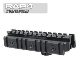 Tri-Rail Base Mount for M4 Style Carry Handle