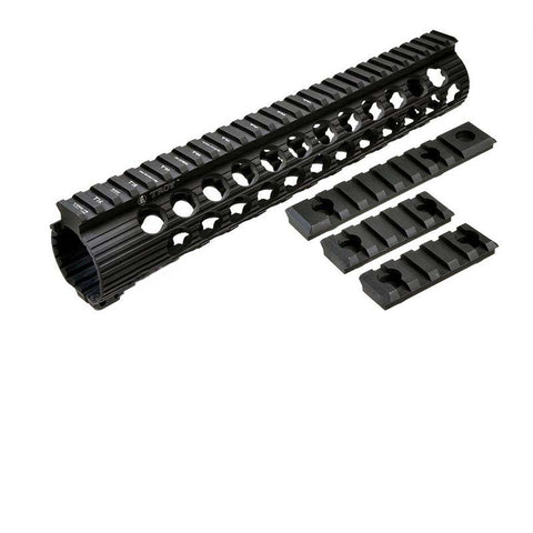 Troy TRX Extreme BattleRail 11 Inch Hand Guard (Black)