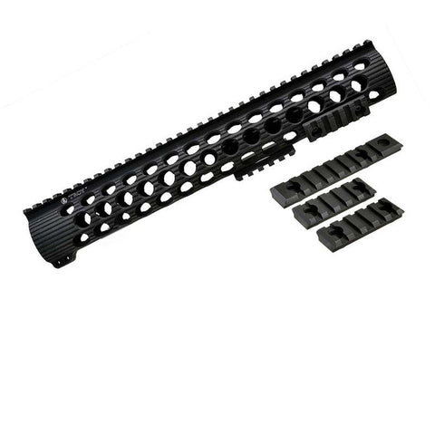 Troy TRX Extreme BattleRail 13 Inch Hand Guard (Black)