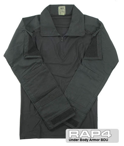 BLACK BDU Combat Shirt