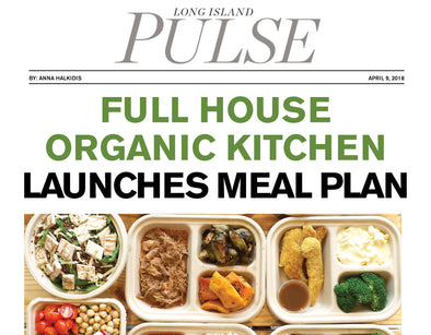 Full House Organic Kitchen Launches Meal Plan