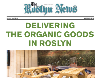 Delivering The Organic Goods In Roslyn