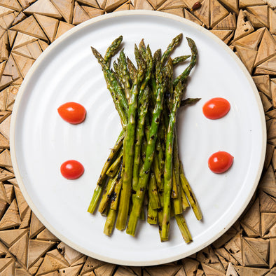 Organic Grilled Asparagus