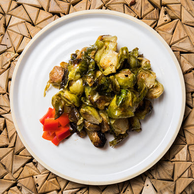 Organic Roasted Brussel Sprouts