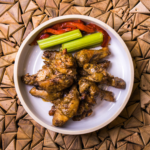 Organic Baked Chicken Wings