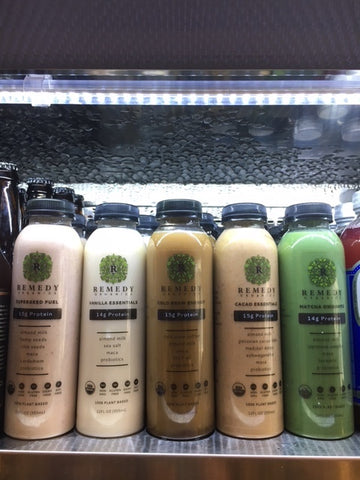 Remedy Organics - Plant based drinks