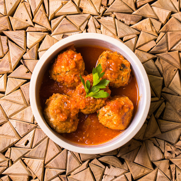 Organic Beef or Chicken Meatballs in Marinara Sauce