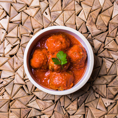 Organic Turkey Meatballs in Marinara Sauce