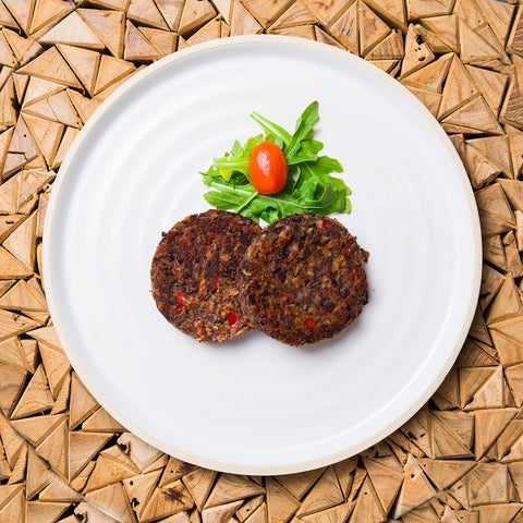 Organic Vegan Black Bean Patty