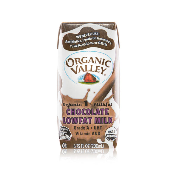 Organic Valley 1% Chocolate Milk or Whole Milk