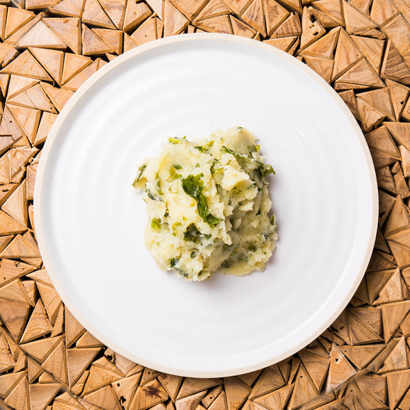 Organic Spinach Mashed Potatoes