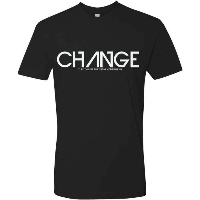"Black ""Change"" Shirt"