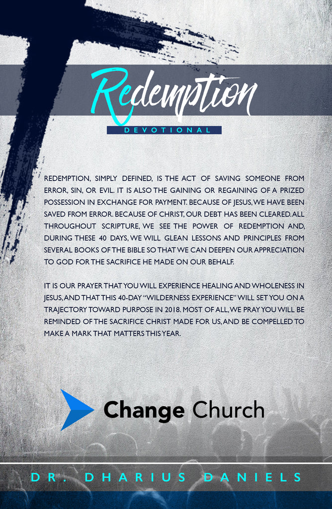 Redemption 40 Day Devotional