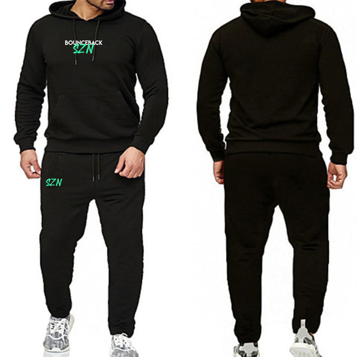 Hooded Pull over Sweatsuit