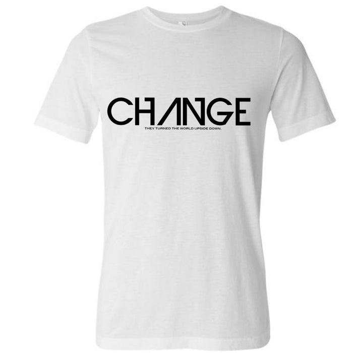 White Change Shirt