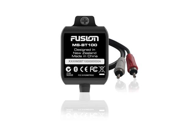 Fusion MS-BT100 Bluetooth receiver (including NOAM rocker switch)