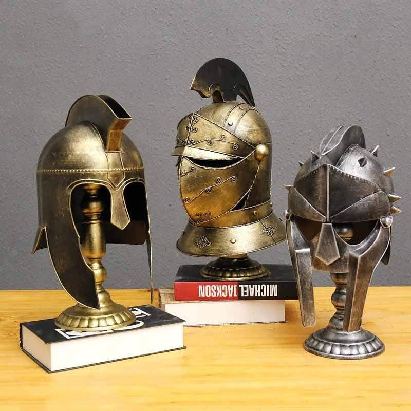 Ancient Gladiator Helmet Collection