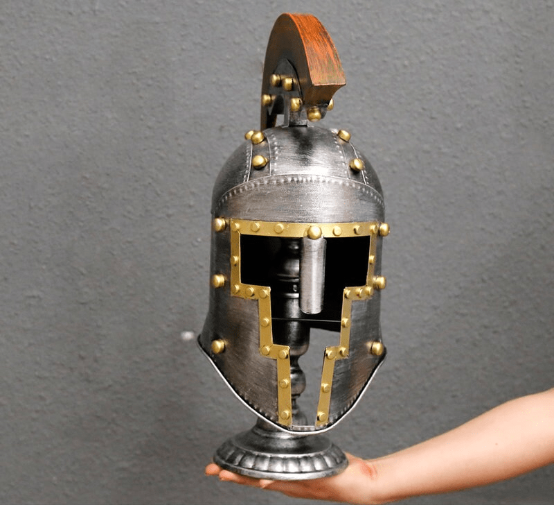 Ancient Gladiator Helmet Collection Secutor