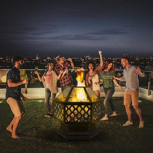 Backyard Fire Dome Hexagon Pit United States