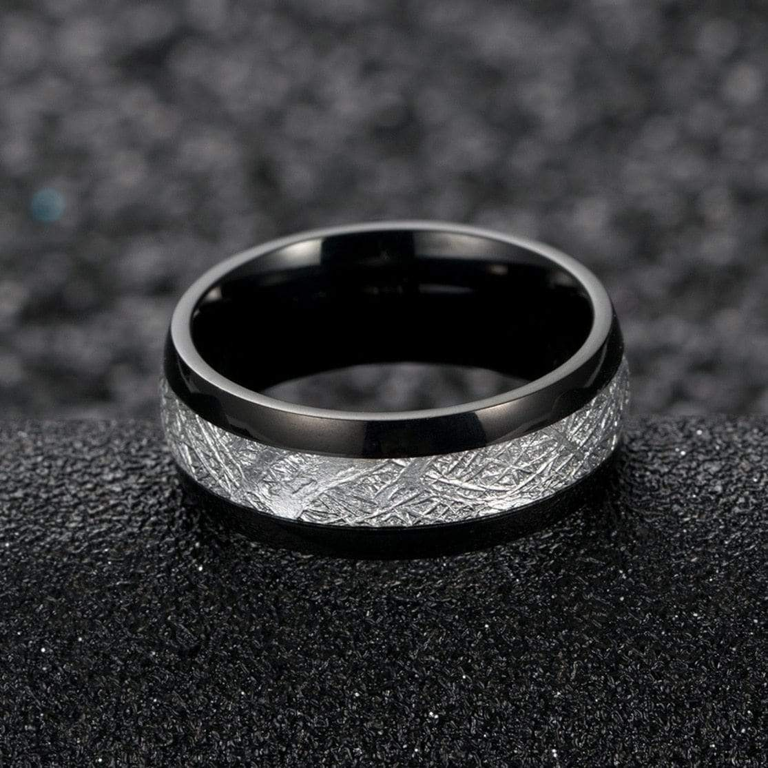 Bolide Tungsten Carbide Ring 7 / Black