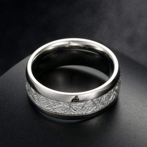 Bolide Tungsten Carbide Ring 7 / Silver