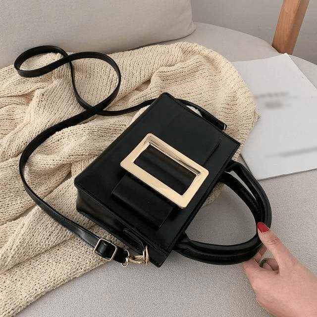 Bolsa Big Buckle Bag Black