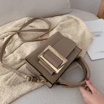 Bolsa Big Buckle Bag Khaki