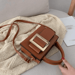 Bolsa Big Buckle Bag Light Brown